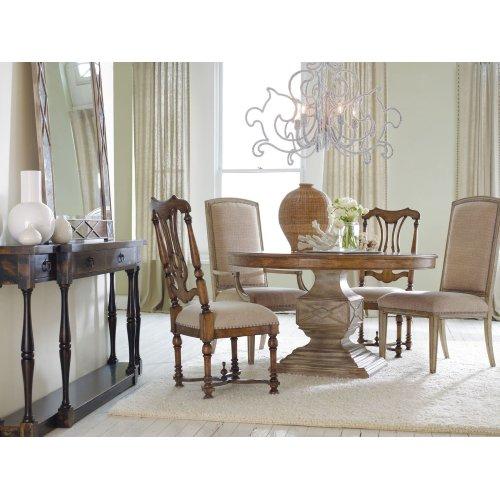 Living Room Sanctuary Four-Drawer Thin Console - Ebony