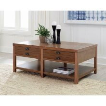 Occasional Group Casual Light Oak Coffee Table