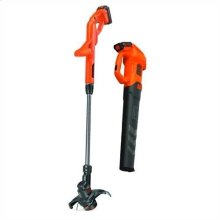 20V MAX*Axial Leaf Blower and String Trimmer Combo Kit