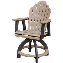 Cozi-Back Swivel Counter Chair