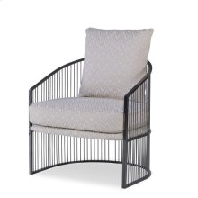 Ruffalo Black Nickel Chair