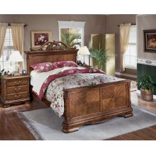 Chadbrook - Brown 3 Piece Bed Set (Queen)