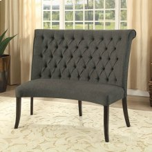 Nerissa Round Love Seat Bench Fabric