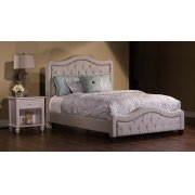 Trieste Queen Bed Set - Dove Gray Product Image