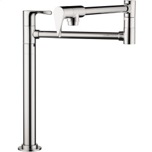 Chrome Single lever kitchen mixer deck-mounted Product Image