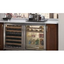 UC-24BS Beverage Center - Classic Stainless