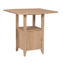 T-3638DPG Dropleaf Bistro Table