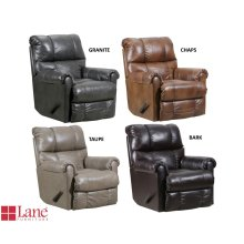 4208-19 Soft Touch - Rocker Recliner in Granite