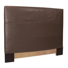FQ Slipcovered Headboard Avanti Pecan