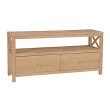 TV-35B 54'' Hampton X-Side TV Stand