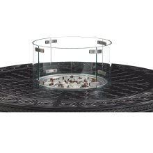 Tempered Round Glass Flame Guard
