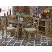 Boulder Ridge Concrete Dining Table- Rectangle (base Only)