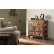 Transitional Reclaimed Wood Accent Cabinet Product Image