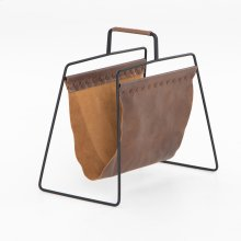 Aesop Magazine Rack-patina Brown