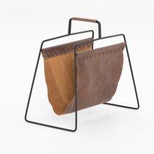 Aesop Magazine Rack-patina Brown