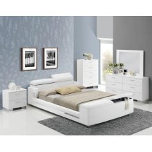 LAYLA EK BED W/STORAGE