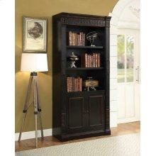 Nicolas Traditional Espresso Bookcase