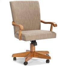 Classic Oak Chestnut Saratoga Game Chair