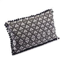 Triangles Pillow Black & White
