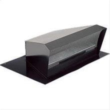 High Capacity Roof Cap, Black, 1200 CFM