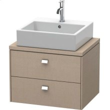 Brioso Vanity Unit For Console Compact, Linen (decor)