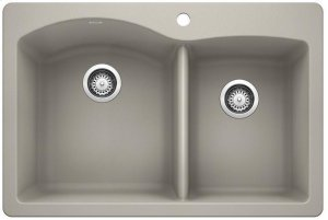Blanco Diamond 1-3/4 Bowl - Concrete Gray Product Image