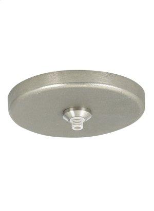 """White Bronze Boreal Freejack 4"""" Round Flush Canopy Product Image"""