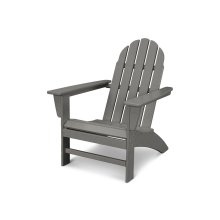Slate Grey Vineyard Adirondack Chair