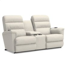 Tripoli Power Wall Reclining Loveseat w/ Console, Headrest & Lumbar
