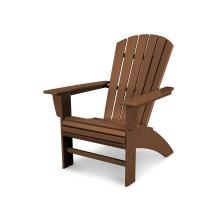 Teak Nautical Curveback Adirondack Chair