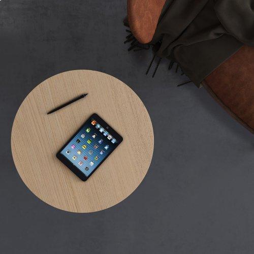 Laptop C Table in Drift Oak