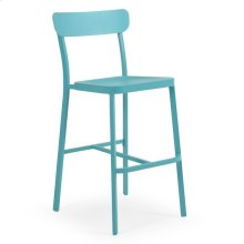 0245 Stackable Bar Stool (Turquoise)