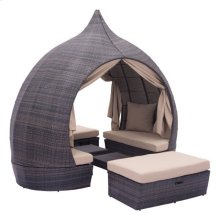 Majorca Daybed Brown & Beige