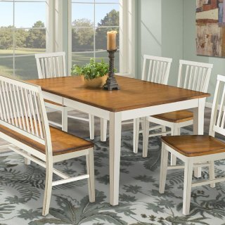 Arlington Slat Dining Bench