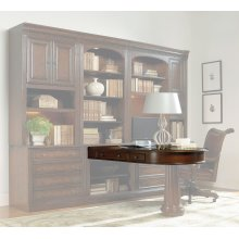 Home Office European Renaissance II Peninsula Desk Top