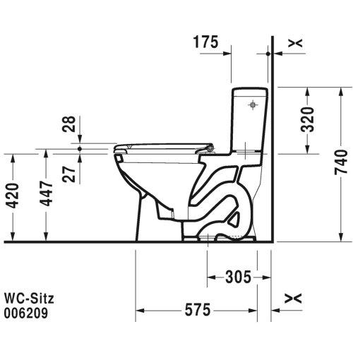 D-code One-piece Toilet