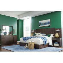 Paldao Wall Panel Bed, CA King 6/0