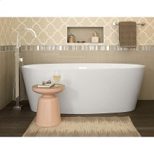 Contemporary Square Free Standing Tub Filler with Hand Shower  American Standard - Polished Chrome