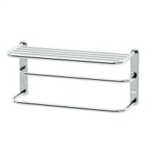 "Spa Rack - 20""L by 10""H in Chrome"