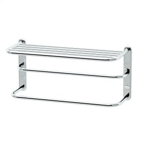 """Spa Rack - 20""""L by 10""""H in Chrome Product Image"""