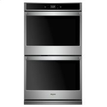 8.6 cu. ft. Smart Double Wall Oven with Touchscreen Stainless Steel