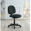 Casual Black Office Chair With Wheels Product Image