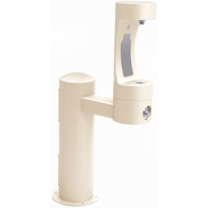 Elkay Outdoor EZH2O Bottle Filling Station Pedestal, Non-Filtered Non-Refrigerated Freeze Resistant Beige Product Image