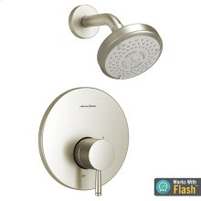 Serin Water-Saving Shower Only Trim with Pressure Balance Cartridge  American Standard - Brushed Nickel