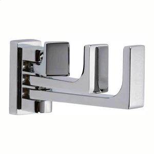 Polished Chrome Triple Pivoting Robe Hook Product Image