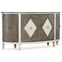 Dining Room Sanctuary Et Jolie Demilune Buffet Product Image