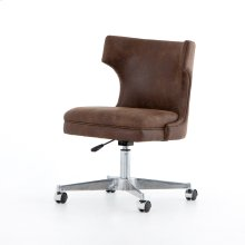 Vintage Tobacco Cover Task Desk Chair