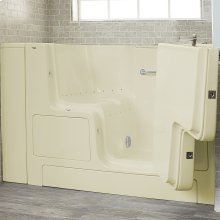 Premium Series 32x52-inch Air Massage Walk-In Tub  Outswing Door  American Standard - Linen