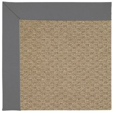 Creative Concepts-Raffia Canvas Charcoal Machine Tufted Rugs