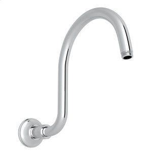 Polished Chrome Wall Mount Hook Shower Arm Product Image